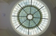 Faux glass dome