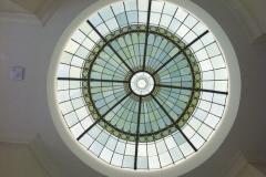 Faux glass dome