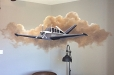 Children-Airplane-room-mural