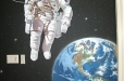 Childrens' room. Astronaut