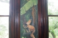 Mural. Natural wildlife. Monkey