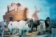 Nursery mural, Noah's Ark theme.