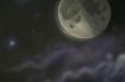 Moon. Space theme