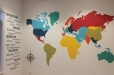 World Map for Child's play room