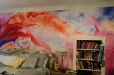 Girl_Room_Abstract_Mural
