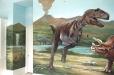 Dinosaurs mural. Tyrannosaurus
