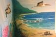 Underwater/Beach mural