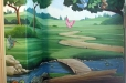 Children mural. Woods