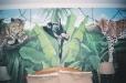 Safari Mural for child's room