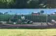 LBJ Hospital Garden Mural part 1