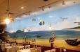 Vietnamese Restaurant Oc N More Mural-Beach