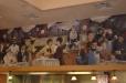 Mia Bella Restaurant mural. Vintage Park, Houston, Texas