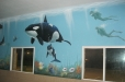 Underwater Mural. The Goddard School in League City, TX