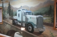 Mesa Truck Services. Office Mural