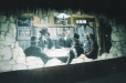 Western mural, Black Jack Bar and Grill. Houston, Texas. Pocker table