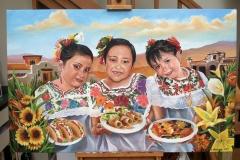 Don-Ramon-Restaurant-Painting on canvas