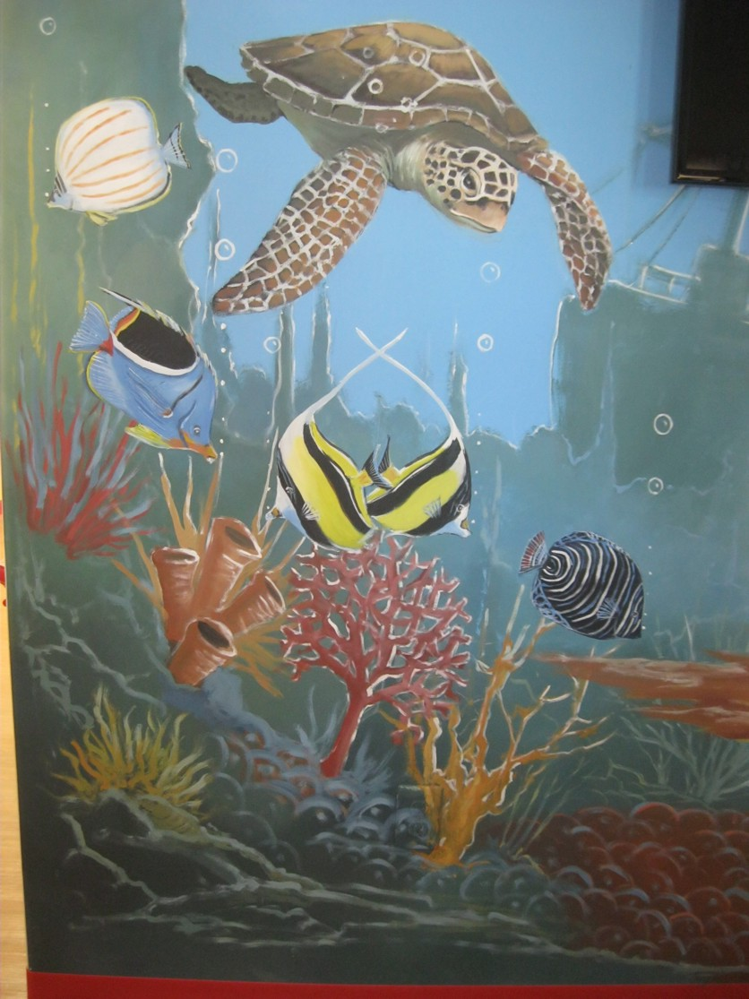 Dream walls commercial custom murals houston texas for Commercial mural painting
