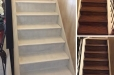 Faux finish Stairway steps