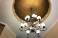 Ceiling Metallic faux finish