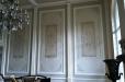 Decorative painting. Dinningroom walls stencil