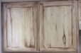 faux finish wood effect on kitchen cabinets