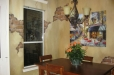 Faux finish dinning room, old world and brick