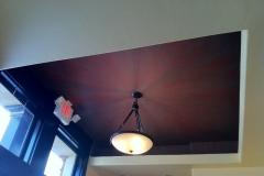 Faux Finish Burst of color ceiling