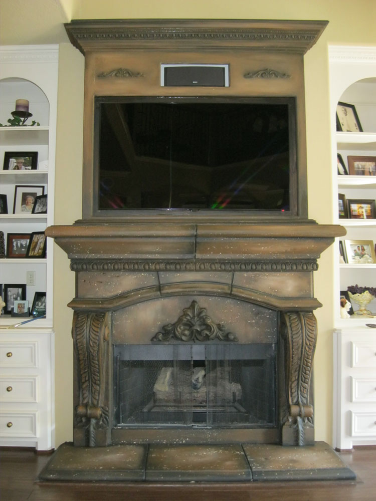 Fireplace finish ideas latest decor make your room more cozy with muskoka fireplace for with - Fireplace finish ideas ...