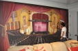 Jefferson Theater. Decorative mural