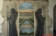 Trompe l'Oeil. Persian Mural