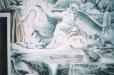 Mural. Roman Fountain