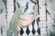 Roman balcony mural