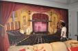 Jefferson Theater. Decorative mural