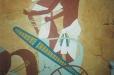 Egyptian theme mural