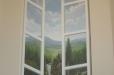 Fireplace Mural. Trompe l'Oeil, open window