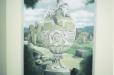 Niche mural. Roman vase