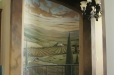 Entryway mural Tuscan theme
