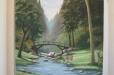 Faux Niche, peaceful landscape