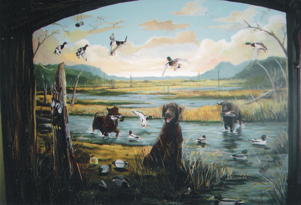 gallery for gt hunting wall murals hunting fishing amp camping wall murals