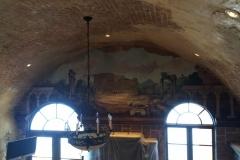 Kitchen ceiling  mural part 1