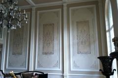 Decorative Painting-Dinningroom Walls Stencil