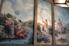 Greek mythology- ceiling mural