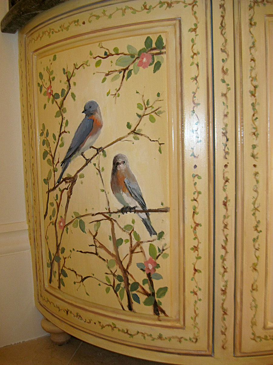 Fine art artistic custom and decorative wall murals for Custom mural painting