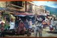 Don Ramon Carnavel. Acrylic painting on canvas.Part II