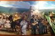 Don Ramon Restaurant. Acrylic painting on canvas. Part IV
