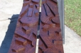 Abstract wood carving.