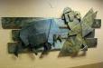 Matadore, abstract wood sculpture. Don Ramon's Mexican Fine Restaurant 2.
