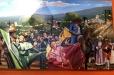 Don Ramon Restaurant. Acrylic painting on canvas. Part III
