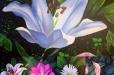 Vera Montenegro paintings - flowers