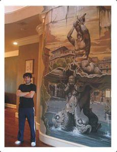 Alfredo Montenegro, mural artist